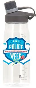 2021 Police Week Water Bottle